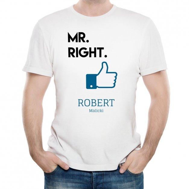 Koszulka Męska z Twoim Nadrukiem LIKE
