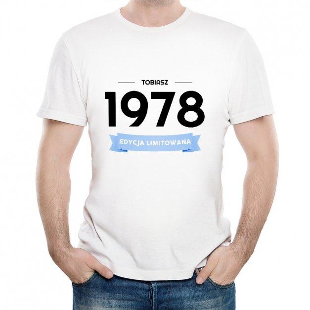 Koszulka Męska z Twoim Nadrukiem EDYCJA LIMITOWANA