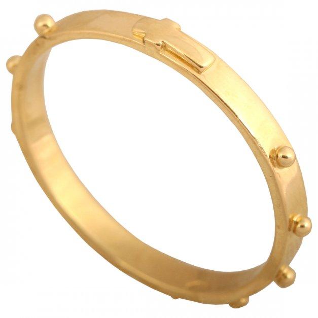 Złoty różaniec 585 prezent grawer pudełko