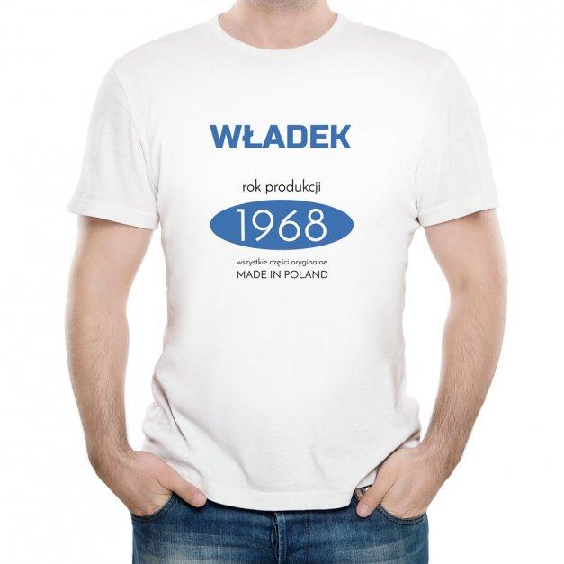 Koszulka Męska z Twoim Nadrukiem MADE IN POLAND