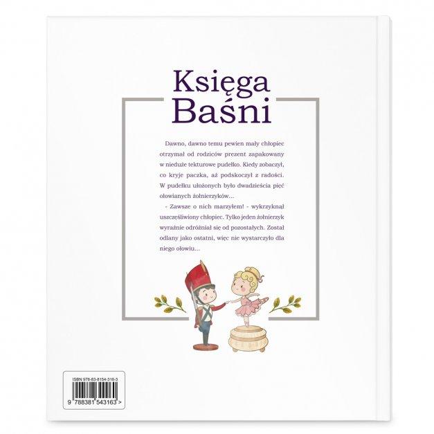 Księga Baśni Dla Dzieci z Nadrukiem Bajki na Dobranoc Mały Rycerz