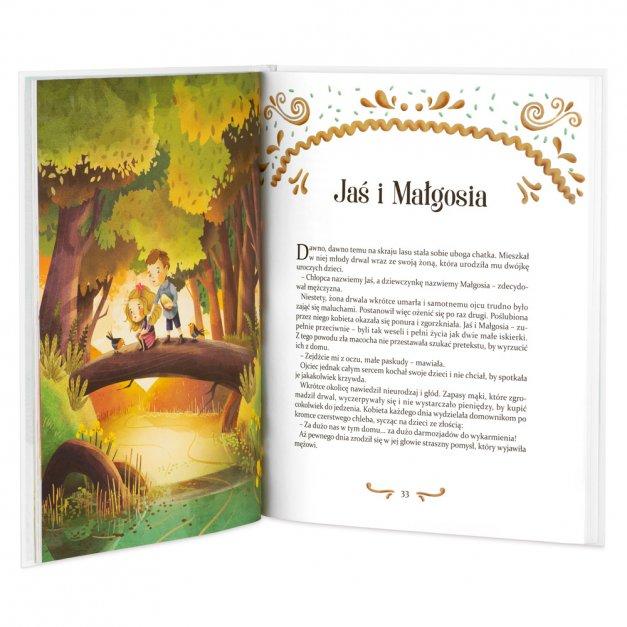 Księga Baśni Dla Dzieci z Nadrukiem Latające Zwierzątka na Roczek