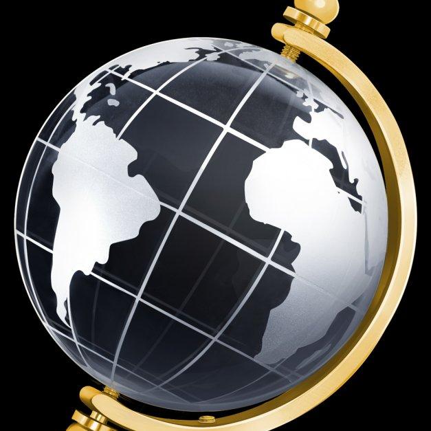 Kryształ Globus Najlepszy Dziadek