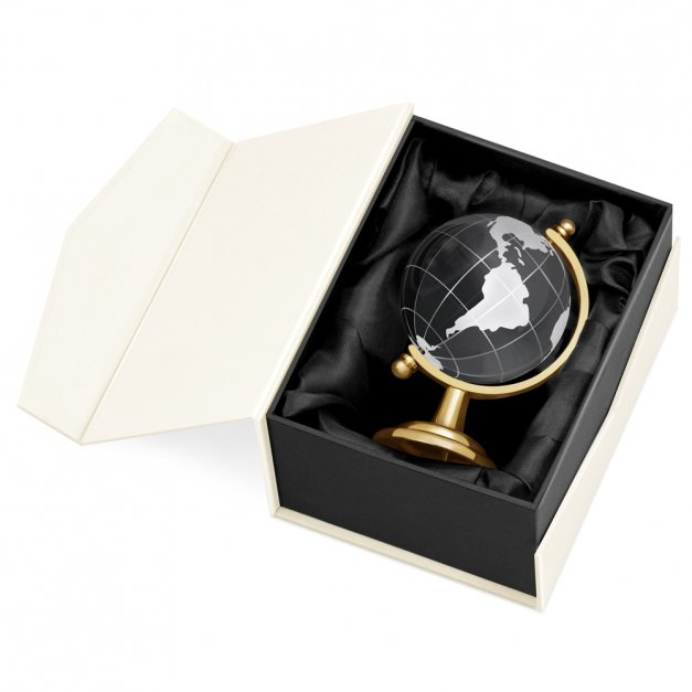 Kryształ Globus od Rodziców na 18 Urodziny
