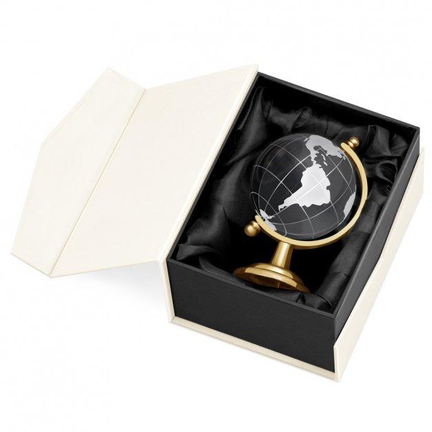 Kryształ Globus dla Żony z Okazji Urodzin