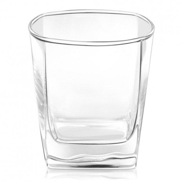 Szklanki grawerowane do whisky x6 komplet inicjały dla pary na ślub rocznicę