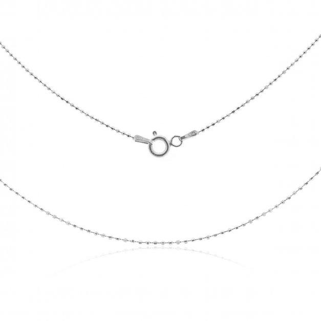 Łańcuszek srebrny Verona