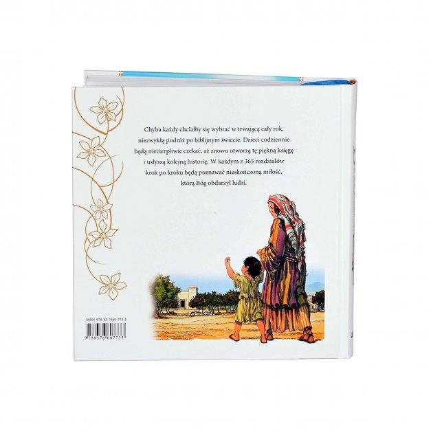 Prezent na komunię Biblia w etui