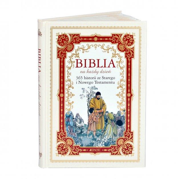 Prezent na komunię Biblia na każdy dzień