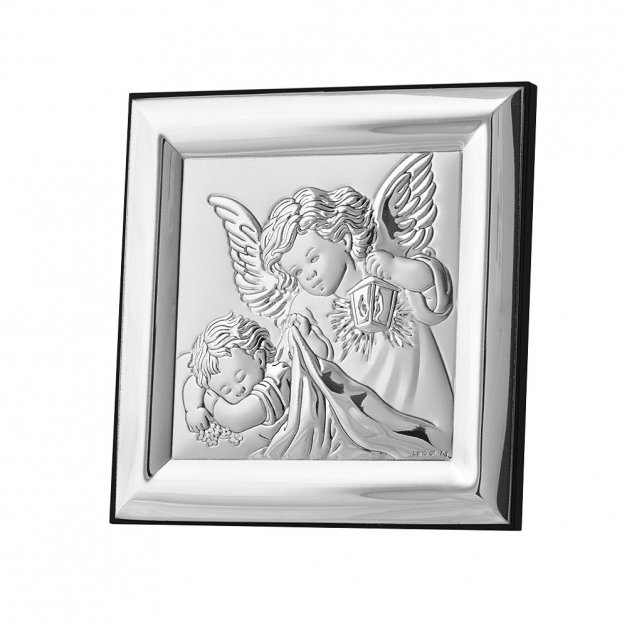 Obrazek Srebrny Anioł Stróż GRAWER