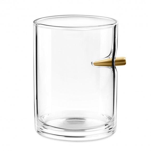 Karafka karabin 4 szklanki zestaw grawer inicjały