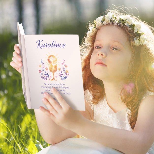 Biblia Dla Dzieci A4 Nadruk Pierwsza Komunia Święta