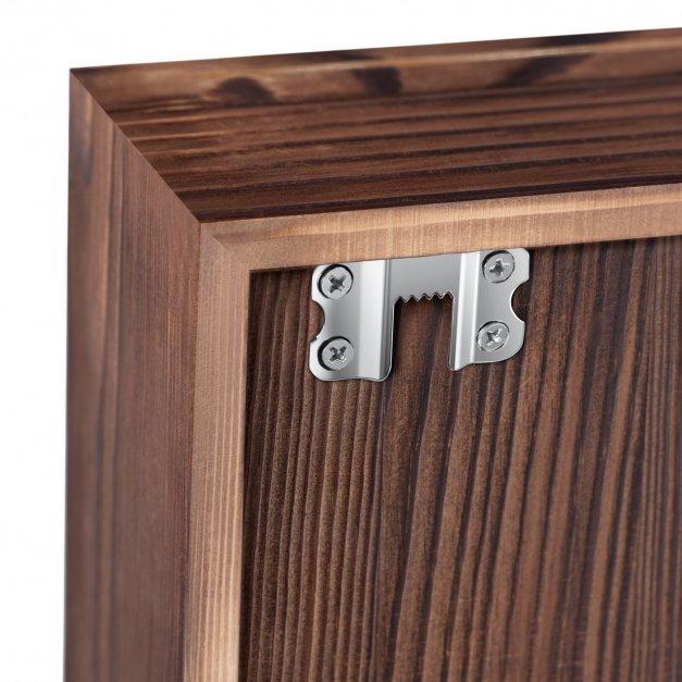 Kapslołap z nadrukiem skrzynka na kapsle dla emeryta