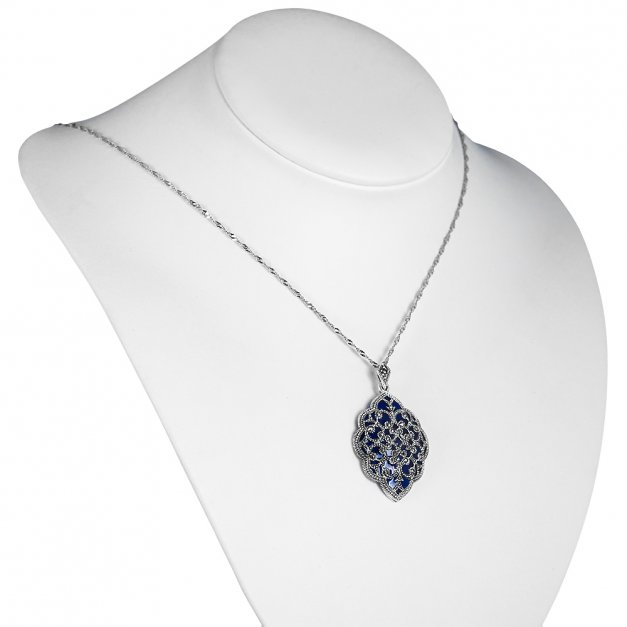 Srebrny Komplet Zestaw Biżuterii 925 z GRAWEREM YS25