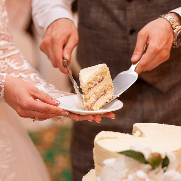 Łopatka do ciasta grawer dedykacja dla pary na ślub