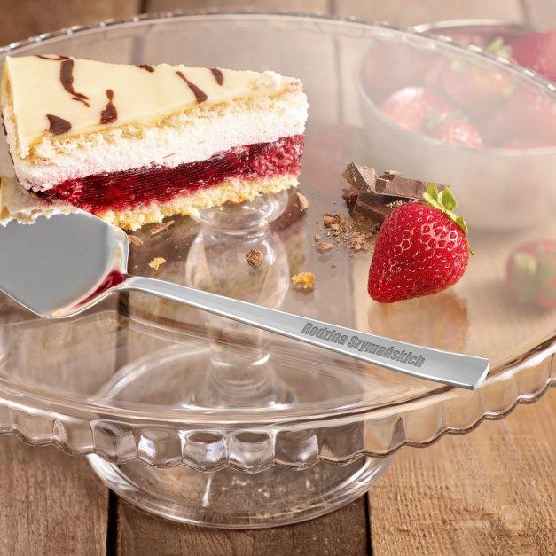 Łopatka do ciasta grawer dedykacja na parapetówkę