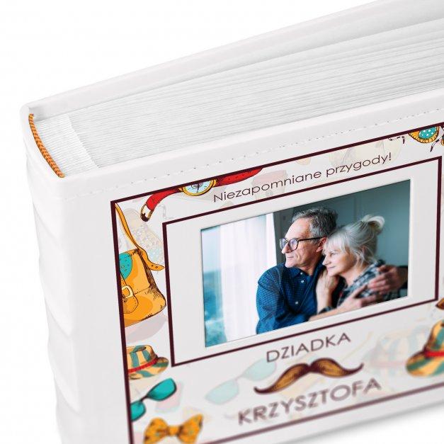 Album mały z oknem nadruk dedykacja dla dziadka