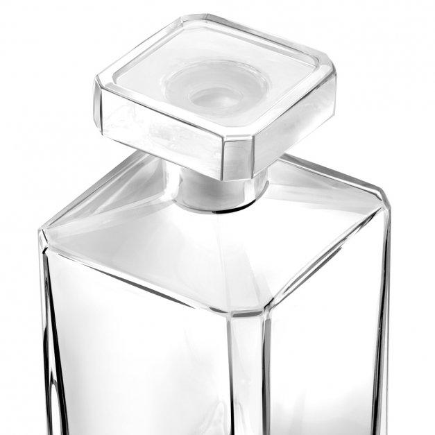 Karafka burbon 4 szklanki zestaw grawer nalewka dla babci