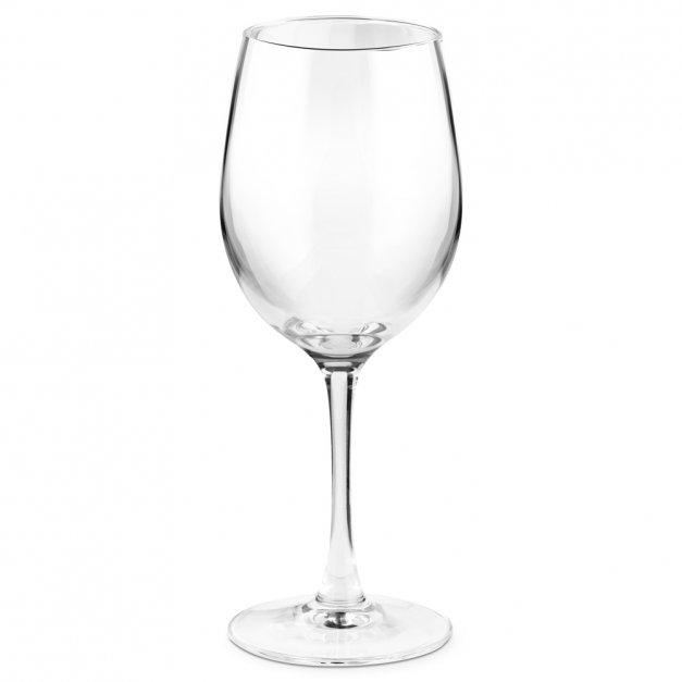 Kieliszek szklany do wina grawer z dedykacją wino nie pyta