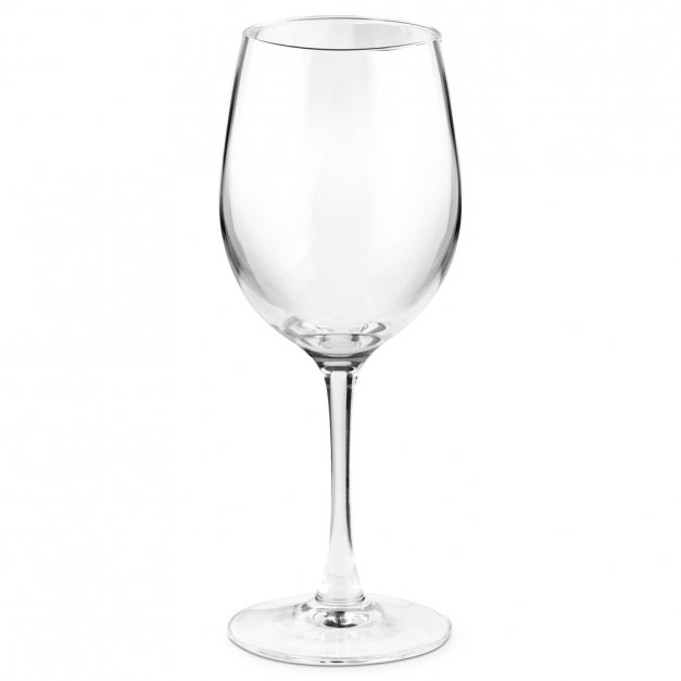 Kieliszek szklany do wina grawer czyń swoją powinność dla niej