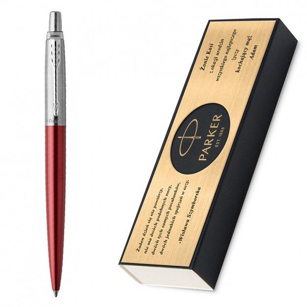 Długopis Parker Jotter Core Kensington Czerwony CT