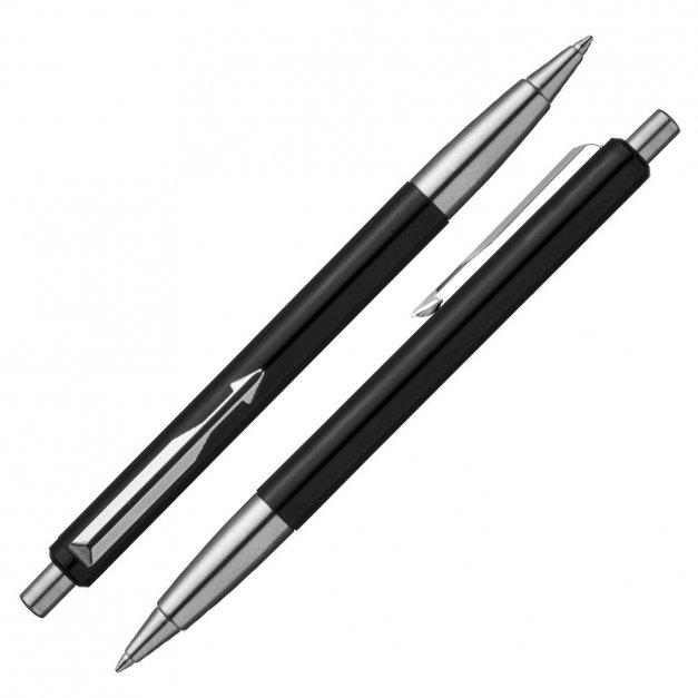 Długopis Parker Vector Czarny GRAWER i ETUI