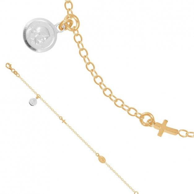 Złota bransoletka 585 łańcuszkowa PREZENT GRAWER