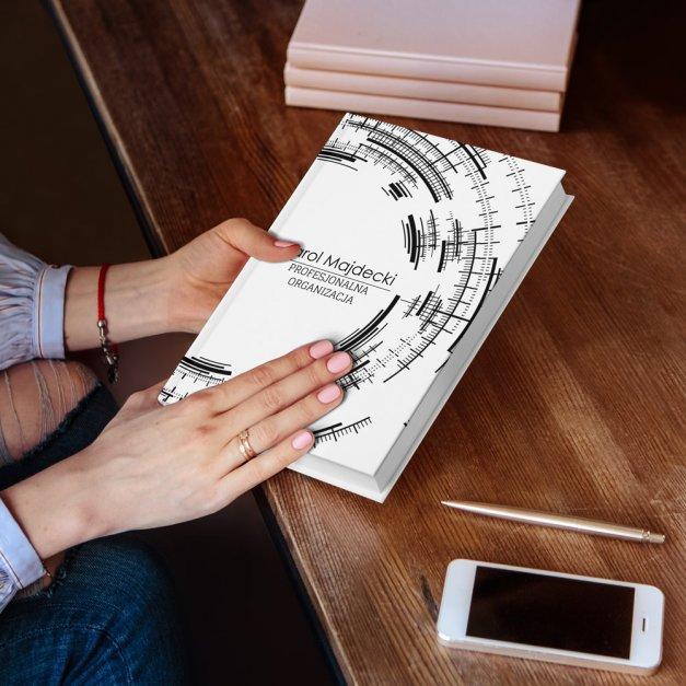 Planner kalendarz książkowy z nadrukiem dla niego logistyka fizyka sekretarza urzędnika