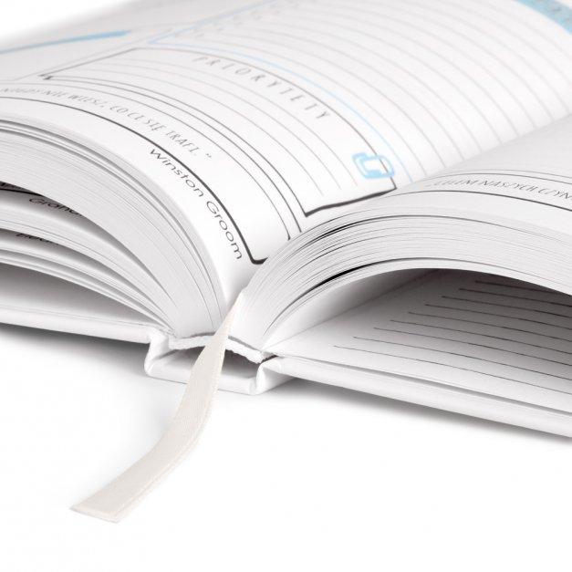 Planner kalendarz książkowy z nadrukiem dla panny młodej na panieński ślub