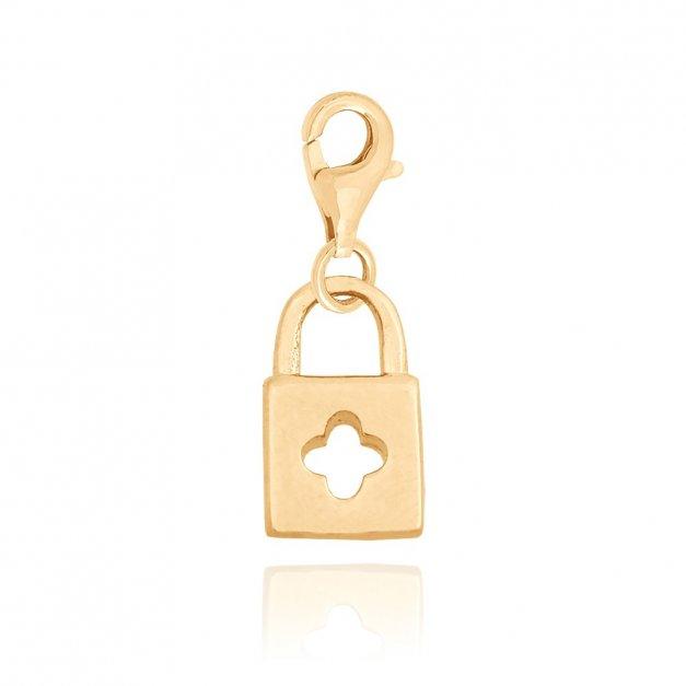 Złota zawieszka 585 charms charms  PREZENT GRAWER