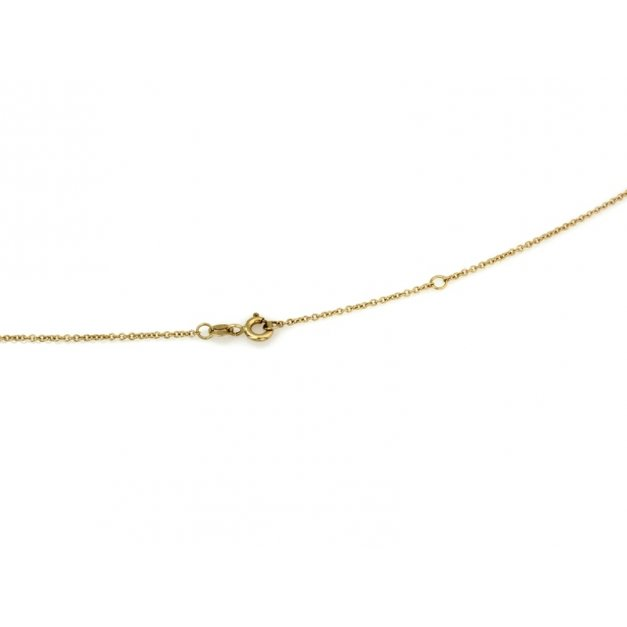 Złoty naszyjnik 585 celebrytka prezent grawer