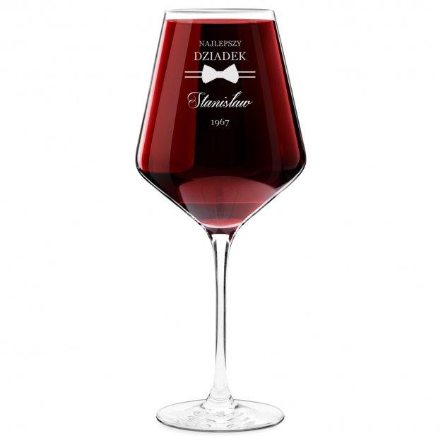Kieliszek do wina KROSNO avant-garde z grawerem dla dziadka na urodziny