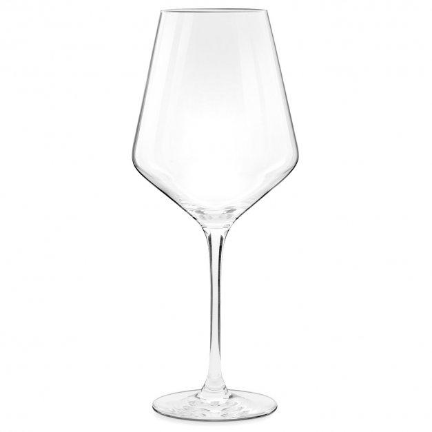 Kieliszek do wina KROSNO avant-garde z grawerem monogram inicjał