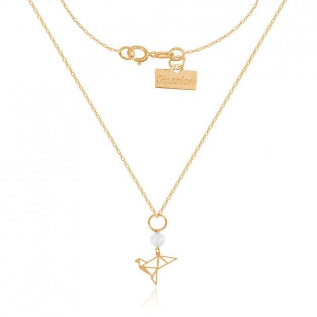 Złoty naszyjnik 585 łańcuszkowy PREZENT GRAWER