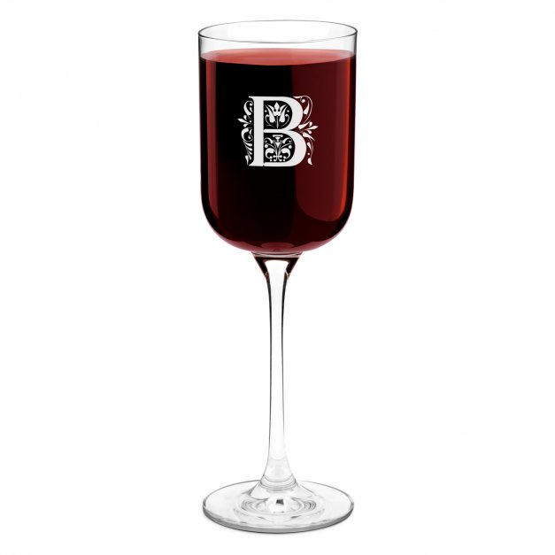 Kieliszek szklany do wina Glamour z grawerem dla niej niego pary