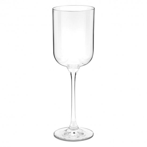 Kieliszki szklane do wina Glamour x2 z grawerem dla pary na ślub rocznicę