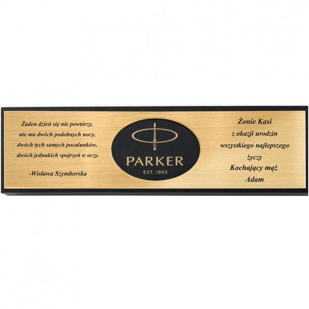 Zestaw Parker Urban Muted Black GT GRAWER PRESTIGE
