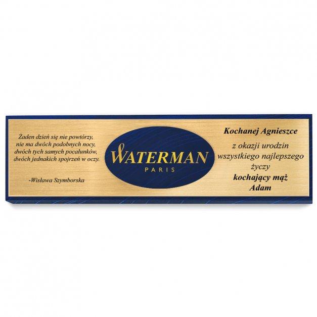 Pióro Wieczne WATERMAN Allure Błękitny CT