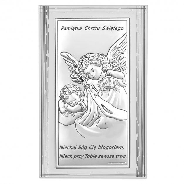 Obrazek Anioł Stróż MODLITWA 15cm GRAWER