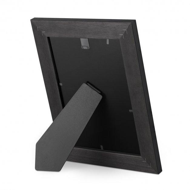 Ramka na zdjęcia czarna z grawerem dla przyjaciółki