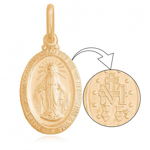Złoty medalik 585 PREZENT GRAWER PUDEŁKO