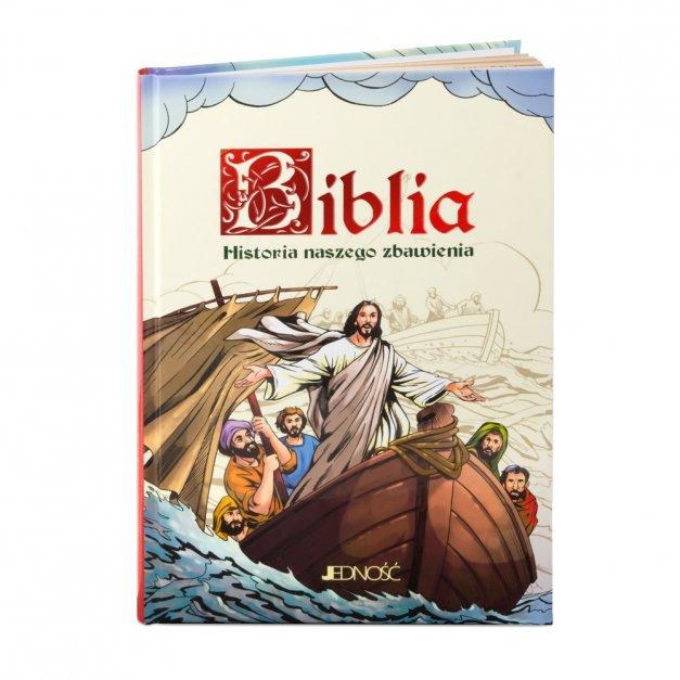 Biblia Dla Dzieci Prezent Na Chrzest GRAWER
