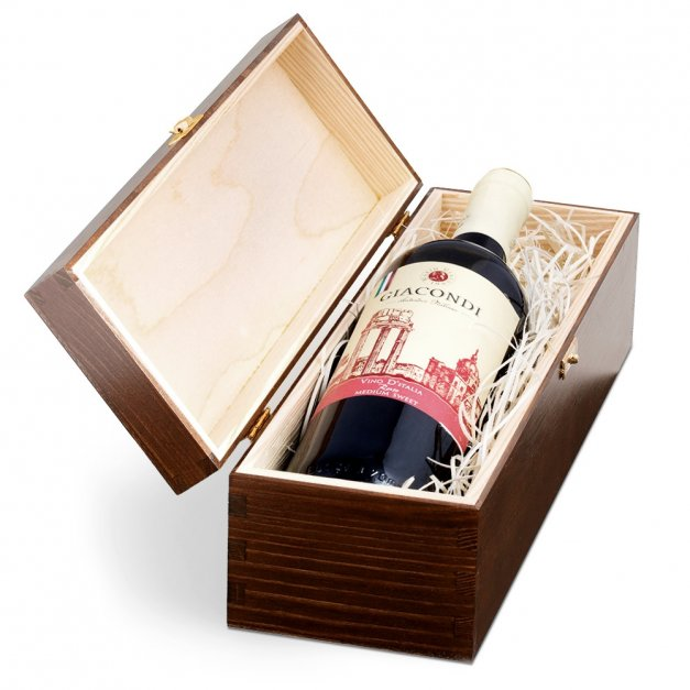 Ekskluzywna Skrzynka Na Wino Z Grawerem