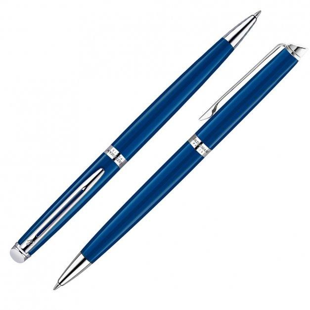 Zestaw Długopis Etui WATERMAN Hemisphere Blue CT