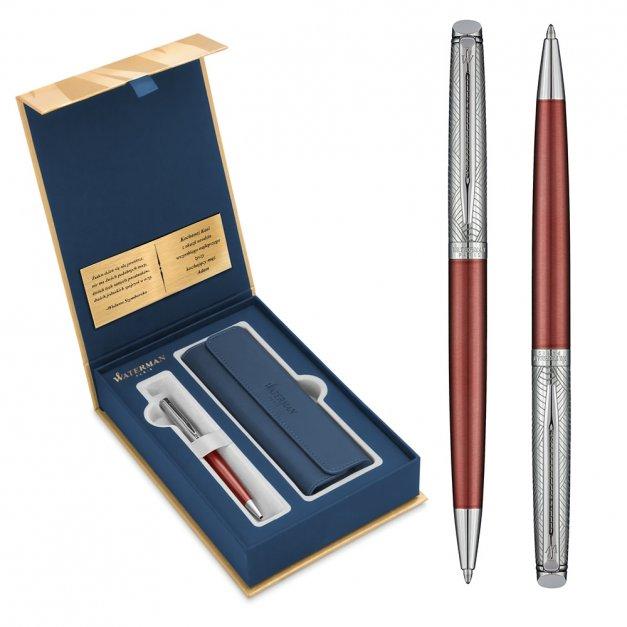 Zestaw Długopis WATERMAN Hemisphere Miedziany Róż CT