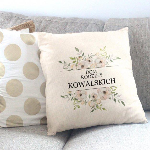 Poduszka personalizowana z nadrukiem DOM