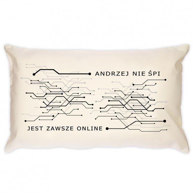 Poduszka personalizowana z nadrukiem ONLINE