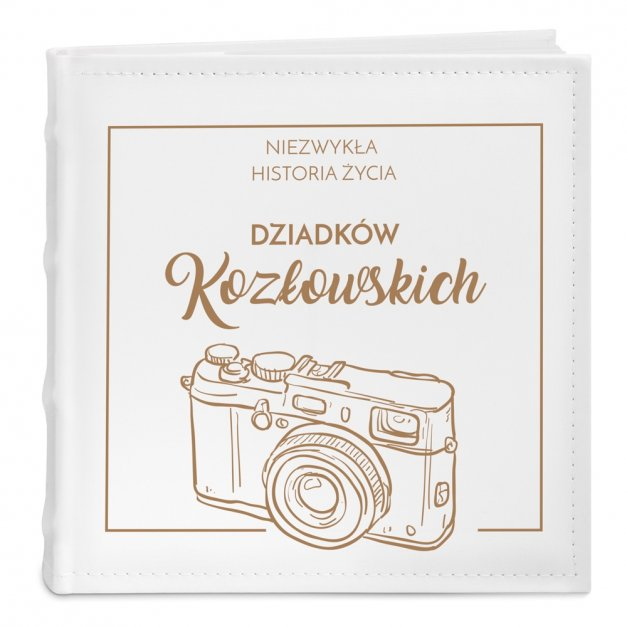 Album Na Zdjęcia GRAWER Retro Aparat Prezent AL016