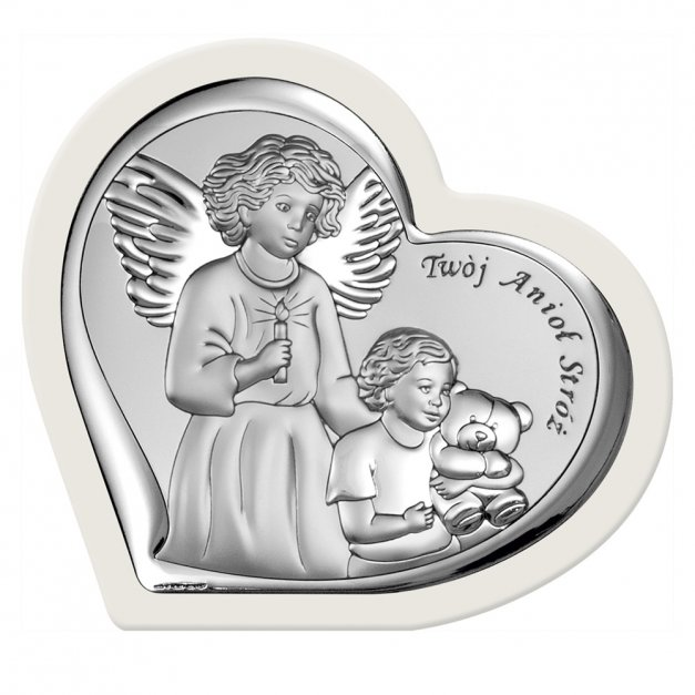 Obrazek Anioł Stróż Prezent Dla Dziecka GRAWER