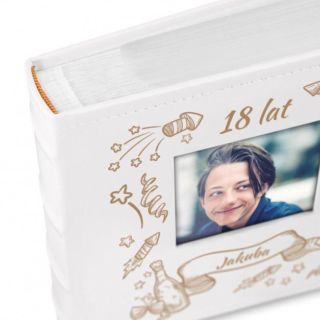 Album Urodzinowy GRAWER Prezent Na Osiemnastkę